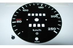 SPEEDO FACE 250 KM/H 911 66-68