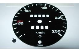 SPEEDO FACE 250 KM/H 911 66-68