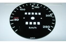 CARA DE VELOCIDAD 250 KM/H 911 73-79