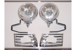 FOG LIGHT CHROME SET