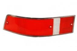 PLASTIC RED TAILLIGHT PORSCHE 911 1969 1971 USA VERSION