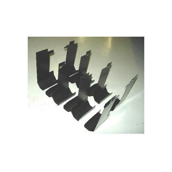 KIT PIASTRE DEFLETTORE MOTORE 911 3.0-3.2 SC CARRERA TURBO BJ 77-89